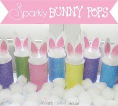 Bunny Push Pops #Easter
