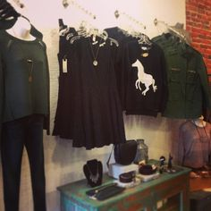 Feels like fall outside! But no worries-- we've got you covered in these great new sweaters and jacket! #sweater #jacket #spikes #feelslikef...