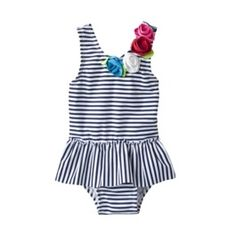Kenzie's suit. It is the cutest one I have found and at Target! Cheap