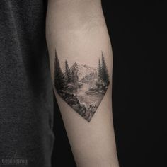 Splendid Landscape Tattoo by grxsy