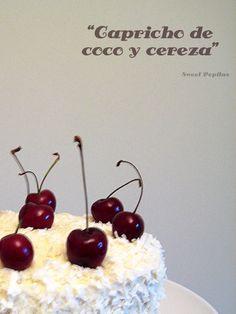 ¡Esta tarta es una maravilla! Suave, delicada, jugosa,.. todos los adjetivos se quedan cortos para describirla.  La tarta perfecta... Sweet Cakes, Sin Gluten, Bakery, Mango, Cherry, Muffin, Fruit, Cooking, Desserts