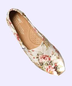 These Adorable Floral TOMS Are Spreading Double The Good Karma