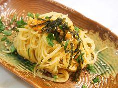 Recipe: Uni Pasta. So simple and so good!