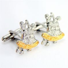 How cool are these dancing cufflinks