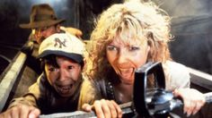 Indiana Jones and the Temple of Doom - Kate Capshaw, Harrison Ford & Jonathan Ke Quan Doom Movie, I Movie, 80s Movies, Movies 2019, Action Movies, Henry Jones Jr, Steven Spielberg Movies, Kate Capshaw, Models