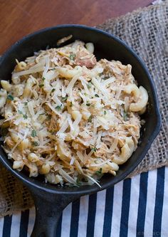 Crock Pot Italian Chicken Pasta from This Gal Cooks