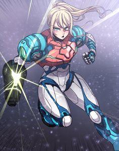 Metroid Samus, Samus Aran, Character Inspiration, Character Art, Character Design, Hall Of Game, Zero Suit Samus, Female Armor, Skullgirls
