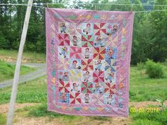 #4 Raggedy Ann & Andy baby quilt