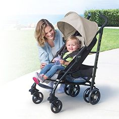 Chicco Liteway Stroller: Chicco Liteway stroller is our last best lightweight stroller featuring trendy color, modern tailoring, elliptical tubing, high tech wheels, and large convenient storage basket make this stroller best among all the parents. Its one-hand adjustable 5 position recline and 2 position adjustable leg rest ensure maximum comfort.