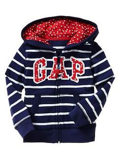 Stars and stripes arch logo hoodie