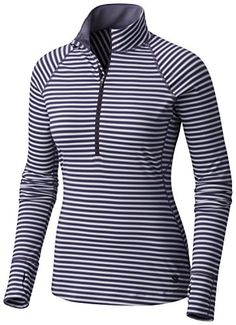 Wick?Q moisture-wicking keeps you cool and dry * Antimicrobial finish minimizes odor * Half-length zipper with chin guard * Thumb loops * (Placed within the Amazon Associates program) * 04:14 Mar 19 2017