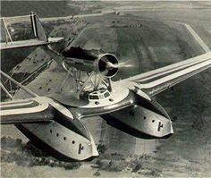 Savola-Marchetti S-55 flying boat, first flew 1925, flew Atlantic 1933