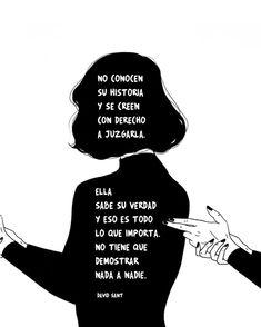 Good Sentences, Little Bit, Inspirational Phrases, Life Words, Magic Words, Sad Love, Spanish Quotes, Life Motivation, I Love Books