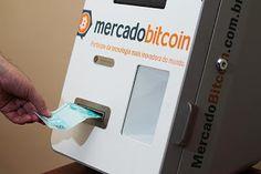 Mundo Bitcoin : Caixa eletrônico' troca reais pela moeda virtual b...