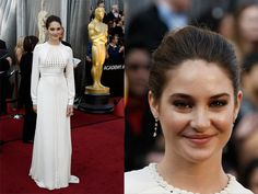 Oscars 2012 red carpet Shailene Woodley