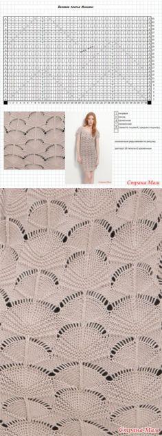 Красивый узор для платья