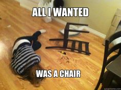 ALL I WANTED WAS A CHAIR - ALL I WANTED WAS A CHAIR  Misc