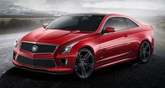 Future Cars: Envisioning the 2015 Cadillac ATS-V Coupe - Carscoops