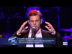 "Simon Fuller's Pick׃ Clark Beckham, ""Ain't No Sunshine"" AMERICAN IDOL XIV - YouTube"