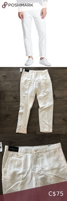 NWT Polo Ralph Lauren Classic Fit Pants Men's Polo Ralph Lauren pants new with tags. Size 34 waist and 32 length. Polo by Ralph Lauren Pants Chinos & Khakis Navy Chinos, Khakis, Floral Print Shirt, Lauren White, Denim Mini Skirt, Vintage Nike, Workout Pants, Khaki Pants, Polo Ralph Lauren