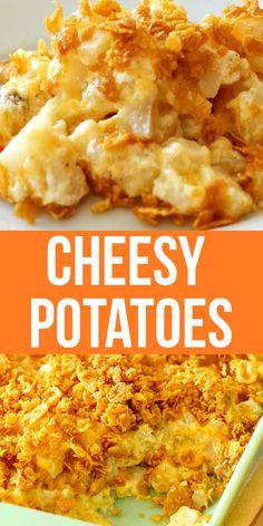 Hashbrown Casserole Recipe, Cheesy Potato Casserole, Potatoe Casserole Recipes, Potato Recipes, New Recipes, Cooking Recipes, Favorite Recipes, Easy Cheesy Potatoes, Gourmet