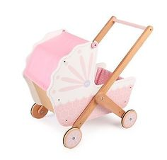 Wooden #doll's pram 3 in 1 #bedding girls push walker toy #pretend game, View more on the LINK: http://www.zeppy.io/product/gb/2/222120290747/