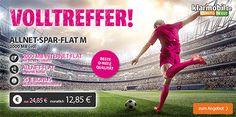 Telekom Allnet Flat mit 2GB Internet Flat für 12,85€ http://www.simdealz.de/telekom/klarmobil-allnet-flat-2000/