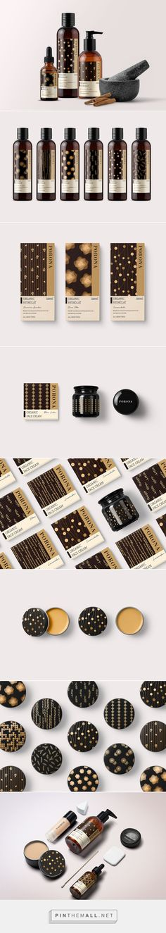 PORONA Organic Skin Care Packaging by Ying He and Heng Wang | Fivestar Branding Agency – Design and Branding Agency & Curated Inspiration Gallery  #skincare #skincarepackaging #packaging #package #packagingdesign #design #designinspiration