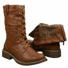 Women's Wanted Crowley Combat Boot Tan Shoes.com
