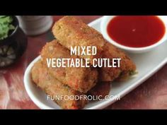 Mixed Vegetable Cutlet (Video Recipe) - Fun FOOD and Frolic