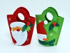 сумочки Christmas Gift Bags, Diy Christmas Cards, Christmas Items, Christmas Candy, Felt Crafts, Christmas Crafts, Christmas Decorations, Crafty Fox, Christmas Accessories