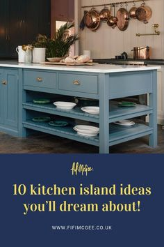 Take a look at these stunning 10 kitchen island ideas and let us know in the which one knocks you out. #kitchen #kitchenideas #kitchenislandideas Open Plan Kitchen Diner, Kitchen On A Budget, Kitchen Ideas, Kitchen Decor, Kitchen Worktop, Kitchen Units, Kitchen Island, Kitchen Colors, Kitchen Layout