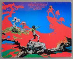 Uriah Heep - The Magician's Birthday LP Vinyl Record Album, Mercury - Art Rock, Hard Rock, Prog Rock, 1972 Original Pressing Greatest Album Covers, Rock Album Covers, Classic Album Covers, Music Album Covers, Progressive Rock, The Magicians, Rock And Roll, Classic Rock Albums, Roger Dean