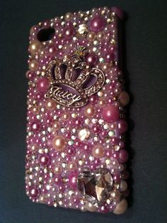 IPhone 4 Bling Case  Juicy Couture by kelseyokerstrom on Etsy, $28.00
