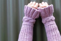 Ravelry: To Arms! pattern by Polly Hammond