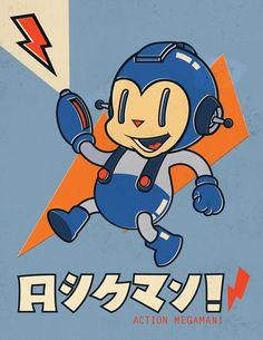 Action Megaman!