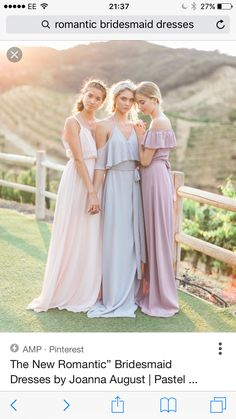 "Beachy bridesmaids dresses with ""sleeves!"""
