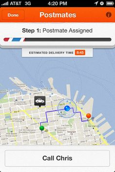 8 Best Postmates images in 2011 | Bike messenger, Mobile app