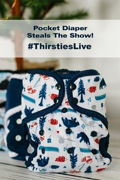 When it comes to convenience and customization, the Thirsties Pocket Diaper steals the show! On this #ThirstiesLive we show off our Pocket cloth diaper, plus some clever cloth diapering tips to help you on your cloth journey!