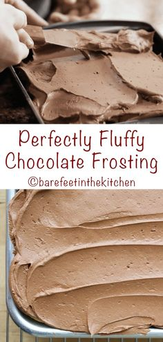 Homemade Frosting Recipes, Chocolate Frosting Recipes, Cake Recipes, Dessert Recipes, Homemade Chocolate Buttercream Frosting, Cake Frosting Recipe, Dessert Chocolate, Chocolate Icing Recipe Using Chocolate Chips, Crisco Icing Recipe Powdered Sugar