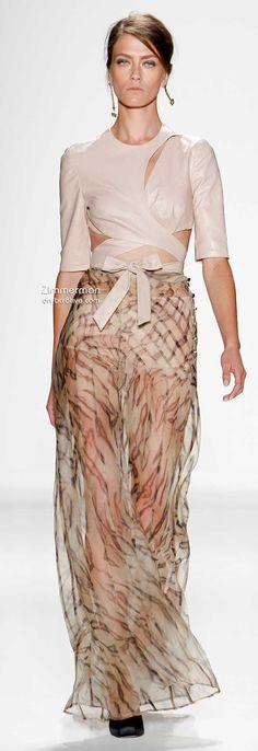 Zimmermann Spring 2014 New York Fashion Week #NYFW