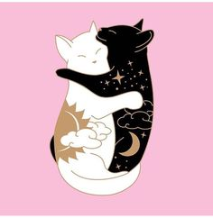 29 Ideas for tattoo moon witch black cats Cat tattoo Tattoo Chat, Luna Tattoo, Hp Tattoo, Tattoo Flash, Art Et Illustration, Illustrations, Illustration Pictures, Wallpaper Gatos, Tattoo Mond