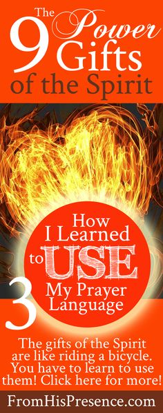 The author's story about how she learned to pray with her prayer language after she received the baptism in the Holy Spirit and fire. It's okay to start small! Sooo encouraging!