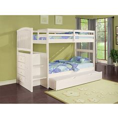 Angelica Twin Over Twin Bunk Bed
