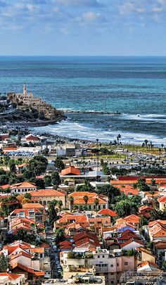 Tel Aviv and Jaffa - no idea where this is, but it is beautiful!