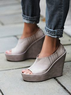 Jeffery Campbell Malene Wedge at Free People Clothing Boutique