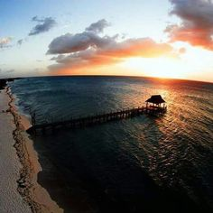 The sunset in Cozumel Cozumel Island, Beautiful Sunset, Celestial, Outdoor, Fitness, Outdoors, Outdoor Games, The Great Outdoors