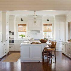 Love a crisp white Kitchen.....speaks summer!#melissaervininteriordesign#kitchen#namib#julialynnphotography#sullivansisland #islandretreat