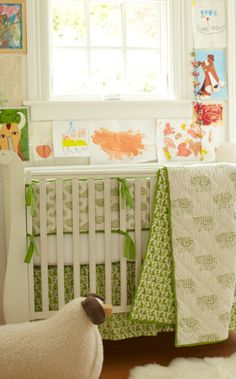 Rikshaw design Taj crib set (elephants & monkeys)