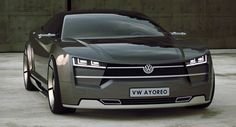 VW Ayoreo Design Concept for a More Affordable Alternative to the Tesla Model S